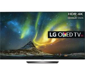 "LG OLED55B6V Smart 4k Ultra HD HDR 55"" OLED TV with 5 YEARS WARRANTY  £1449.00 @ Currys with code"