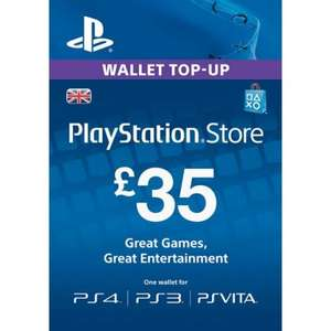PSN £35 Playstation Network Card  £30.99 - electronicfirst