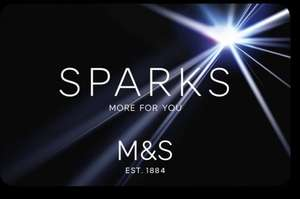 Sparks members at M&S - Check your account for £5 off food when you spend £25