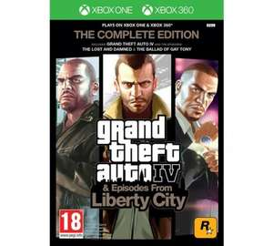Grand Theft Auto IV Complete Edition Xbox 360 Xbox One Game £11.99 Delivered @ Tesco