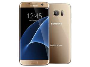 Samsung S7 Edge Gold Unlocked Refurbished (Very Good) £329.99 - musicmagpie (6.06% cashback possible)