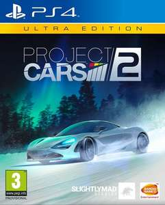 Available to Pre-Order Project CARS 2 Ultra Edition (PS4/Xbox One) £430 @ Amazon