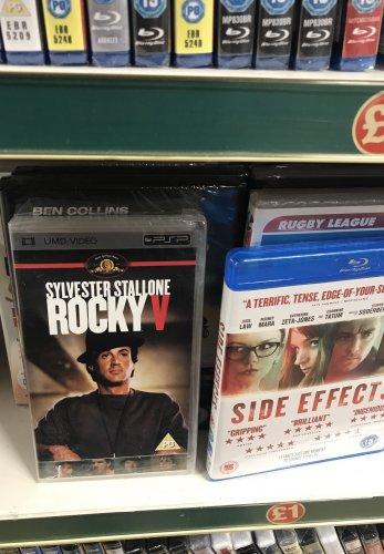 Rocky V UMD Movie for PSP £1 In Poundland
