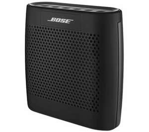 Bose soundlink wireless speaker black just £64.99 @ currys