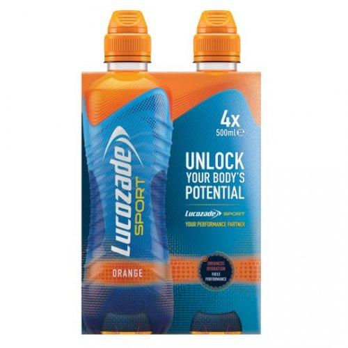 Lucozade Sport Orange 4 x 500ml & Lucozade Sport Lite Orange 4 x 500ml was £3.50 now £1.75 In Store & Online @ Tesco