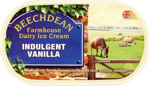 Beechdean Indulgent Vanilla Ice Cream (1L) was £2.80 now £1.40 @ Ocado