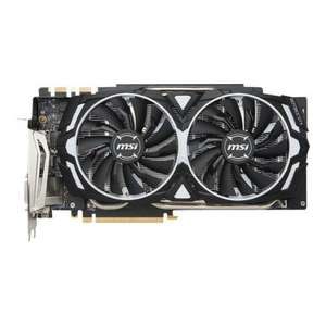 MSI GTX 1080 Ti ARMOR 11G with Aftermarket Cooling £649.50 @ Ballicom