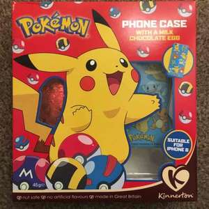 Pokémon Easter egg & iPhone 6 phone case 50p instore @ Iceland