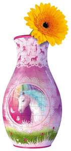 Ravensburger My 3D Boutique - Unicorns Vase, 216pc 3D Jigsaw Puzzle £4 Prime @ Amazon, £4