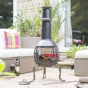 Ignacia Large Chimenea - £35 (£39.99 Delivered) @ The Original Factory Outlet