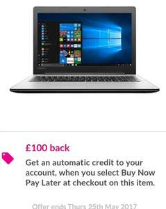 Lenovo IDEAPAD 310 Intel Core I7 Processor, 12GB RAM, 2TB Hard Drive, 15.6in Full HD Laptop with Nvi £599.99 (+£100 Cashback on BNPL) - VERY