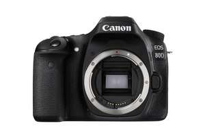 Canon 80D DSLR Camera £919.00 @ Amazon £839 after £80 cashback from Canon