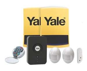 Yale HSA home alarm kit, Android/Apple app, email, sms alerts @ screwfix - £179.99