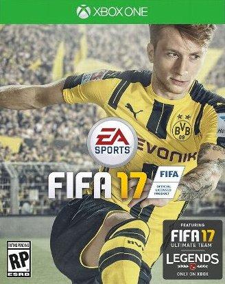 Fifa 17 XBOX ONE (12.99 5% FB CODE £12.34) @ CDKEYS