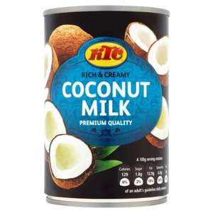 400g tin of KTC Coconut Milk, 50p at Morrisons