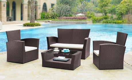 Garden Furniture Rattan - £229.99 @ Groupon Delivered
