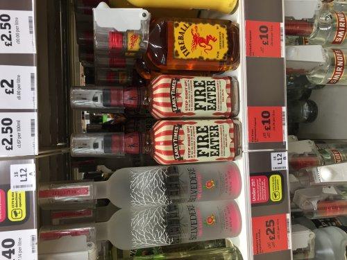 Fireball Liqueur with Cinnamon & Whisky 50cl - £10 @ Sainsbury's