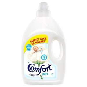 Comfort Pure Fabric Conditioner 85 Wash 3L £2 clearance instore @ Iceland (Exeter 19/23 Sidwell Street EX4 6NN)