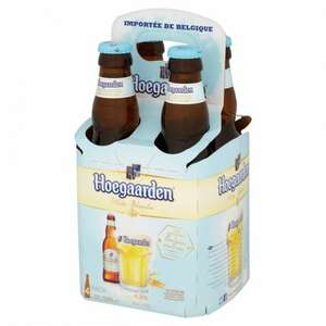 Hoegaarden 4x 330ml pack reduced to half price - £2.50 @ Asda