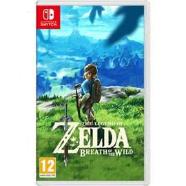 The Legends of Zelda BOTW [Switch] £39.99 Preowned @ Game
