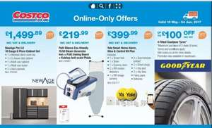 £100 Off 4 Fitted Goodyear Tyres @ Costco (Members Only)