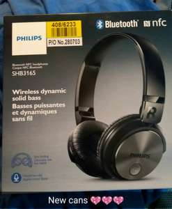 Philips SHB3165 Bluetooth Headphones with NFC £32.99 @ Argos