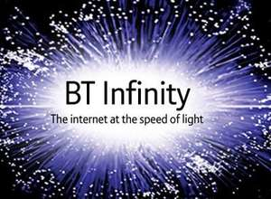 BT INFINITY 76Mb for the price of 52Mb £479.87 @ BT