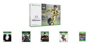 Xbox One S 500GB Fifa 17 Bundle + 4 games and 2 month Now TV movie pass £249.99  @Game