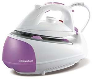 Morphy Richards 333020 Jet Steam Generator, 2200W (Pink/White) - was £79.99 now £57.99 @ Amazon