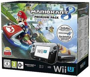 Refurbished Nintendo Wii U Console 32GB Premium Pack With Mario Kart 8 Black £169 @ Tesco Ebay Outlet