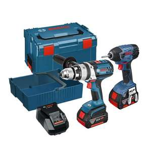 Bosch Robust Series Combi Drill & Impact Driver Twin Kit - £40 OFF this weekend @ Powertoolworld (£247)
