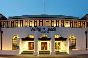 Fee Free Bookings at White Rock Theatre Hastings TODAY ONLY