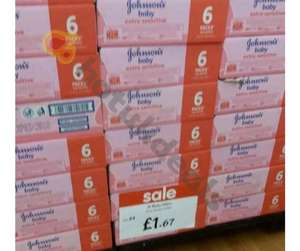 Johnson's Baby Wipes - Reduced to £1.67 @ Asda - Coventry