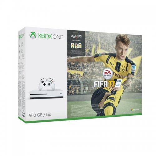 Microsoft Xbox One S 500gb  with fifa 17 refurbished £169 @ Tesco / ebay