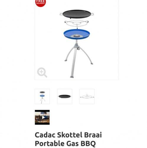 CADAC skottel braai (portable gas BBQ) £79.99 delivered @ Gasproducts