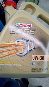Castrol Edge Titanium 0w-30 4ltr £2.90 @ Asda - Asda West Bridgford Nottingham