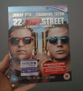 blu-ray ,22 jump street ,plus loads more. £1 at poundland.