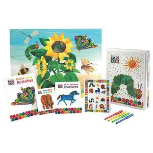 *BACK IN STOCK* The World of Eric Carle Happy Tin £2 + Free C&C was £16.99 @ Tesco Direct (includes 3 colouring & activity books/a poster/50 fun stickers & 4 felt-tips)