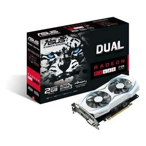 ASUS Radeon RX460 DUAL 2 GB GDDR5 £77.99 - FREE DELIVERY @ CCL online
