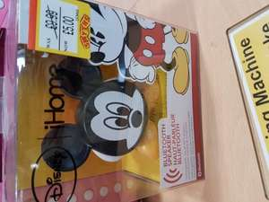 Mickey Mouse/iron man/captain america Bluetooth rechargeable speaker @ Smyths - Colchester