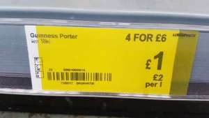 Guinness West Indies Porter Asda South Shields instore £1