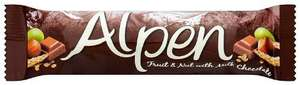 Alpen Fruit and Nut With Milk Chocolate Cereal Bar 29 g (Pack of 24) £4.75 (Add-on item) or £4.51 S&S @ Amazon