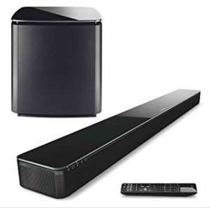 Bose® SOUNDTOUCH 300 SOUNDBAR and BOSE® ACOUSTIMASS 300 BASS MODULE £539.10 each with code BOSE10MAY from PRC Direct