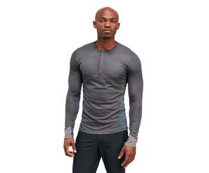 Merrell outlet sale e.g Capra L/S Quarter Zip Tech Tee  £18