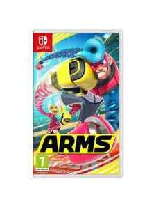 Arms on Nintendo Switch on £25 Very
