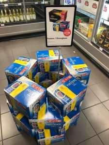 12 Pack of Fosters/Strongbow £7.99 instore @ Costcutter
