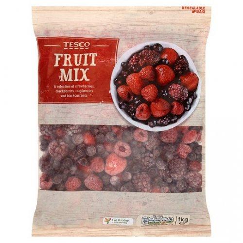 Frozen mixed fruits 1kg £2.50 @ Tesco