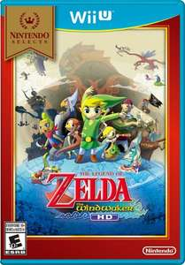 Wii U Legend of Zelda WindWaker Selects £16 @ Tesco Direct