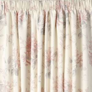 Laura Ashley Honeysuckle Trail Cyclamen Ready Made Curtains reduced to £28 - £46 (were £115 - £240) PLUS 10% off code