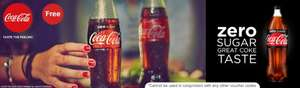Try a bottle of Coca-Cola Zero Sugar 1.75L for free @ Sainsburys